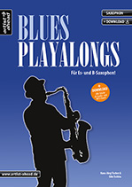 Blues Playalongs Sax